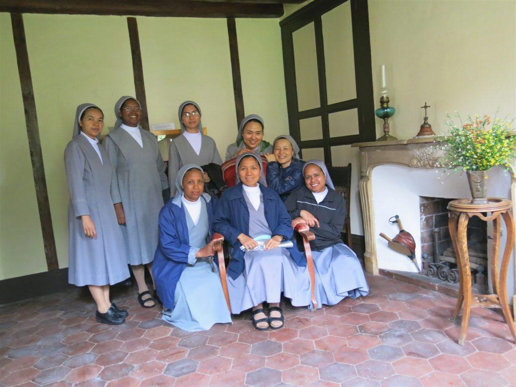 Receiving room of Fr. Louis Chauvet